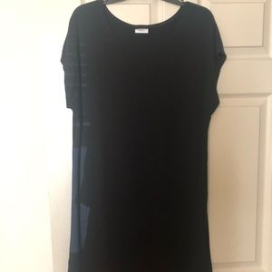 Buttercream clothing midi dress black, small NEW